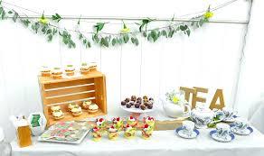 tea party bridal shower a garden tea party bridal shower tayonthemove