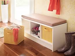 Home Decorators Storage Bench Hallway Storage Bench For Small Spaces Entry Mudroom Ideas Image