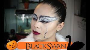 el cisne negro maquillaje para halloween youtube