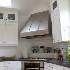 furniture modern island kitchen hood rectangle stainless steel