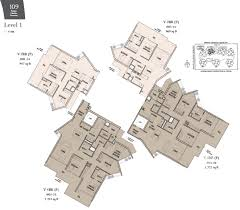 bishopsgate residences floor plan view show flat the crest at prince charles