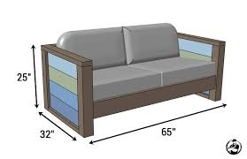 Free Wood Outdoor Furniture Plans by Rogue Engineer Free Plans Outdoor Wood Plank Loveseat