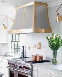 Wall Lights For Kitchen Brass Studded Kitchen Transitional Kitchen
