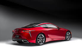 lexus lf lc vision gran turismo 2018 lexus lc 500 packs 471 hp goes on sale next may