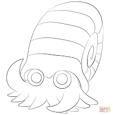 starmie coloring page free printable coloring pages