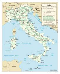 Map Of Italy by Large Detailed Administrative Divisions Map Of Italy 2006