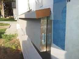 Pvc Exterior Door Trim by Exterior Window Trim Proportion To Siding Size Windows Siding