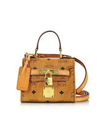 mcm designer mcm designer handbags heritage line cognac baby satchel co
