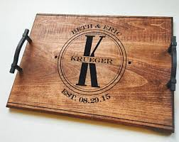unique monogrammed wedding gifts personalized wedding gift etsy