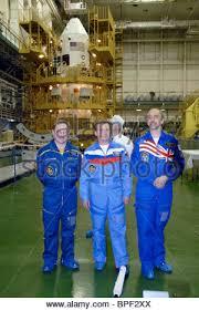 crew members of soyuz t 12 spacecraft left to right twice hero of