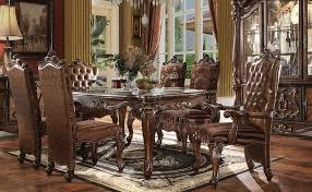 versailles dining room dallas designer furniture versailles formal dining room set in cherry