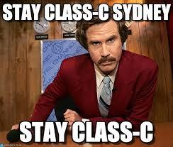 Sydney Meme - stay class c sydney ron meme on memegen