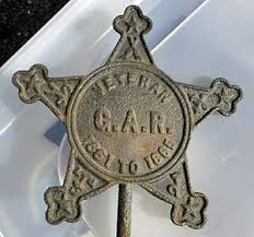 grave markers for sale g a r grave markers of union soldiers auction finds