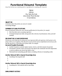 Sample Functional Resume Pdf examples of functional resumes combination resume examples