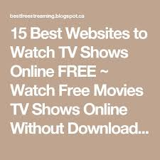 25 unique free tv shows online ideas on pinterest watch online