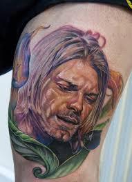 tattoo portraits on arm the kurt cobain tattooed legacy tattoo life