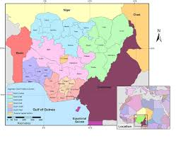 Nigeria State Map by Using Geographically Weighted Regression To Estimate The Spatial