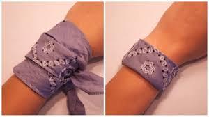 bandana wristband bandana bracelet