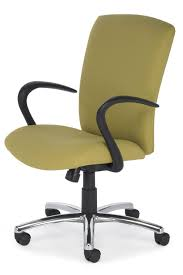 office chair with armrests on casters height adjustable