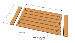 making a wood table top plans wood patio plans