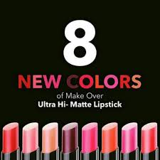 Lipstick Makeover Hi Matte 09 17 makeover ultra hi matte lipstick shopee indonesia