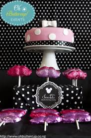 Pink And Black Candy Buffet by 22 Best Candy Buffets Baby Shower Images On Pinterest Baby