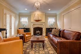Brown Leather Living Room Decor Family Room Decorating Ideas With Leather Furniture Home Design