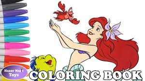 disney princess ariel coloring book pages the little mermaid