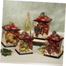 grape kitchen canisters wine grapes kitchen decor ebay kitchen decor