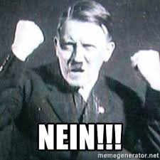 Nein Meme - nein angry hitler meme generator
