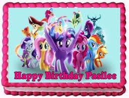 my pony decorations my pony edible frosting sheet cake topper birthday