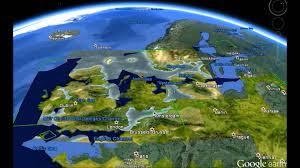 Stone Age World Map by Doggerland Youtube