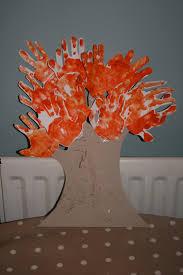 autumn tree handprints the imagination tree