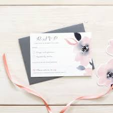 wedding invitations and rsvp sweet posey bespoke wedding invitation and rsvp bundle