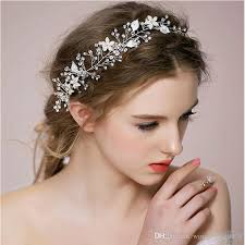 luxury hair accessories western luxury bridal hair accessories gold silver leaf