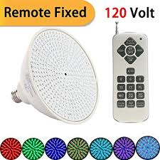 how to change an inground pool light amazon com p led 120v 35w color changing replacement swimming