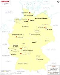 Map Og Germany by Map Of Germany Major Cities Evenakliyat Biz