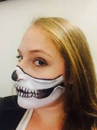 halloween skull with candle background photos we tried a skull mask makeup halloween tutorial