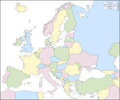 Blank European Map by Europe Free Map Free Blank Map Free Outline Map Free Base Map