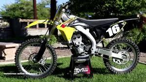 motocross action magazine first ride 2015 suzuki rmz250 motocross action magazine youtube