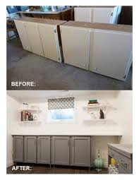 Cheapest Kitchen Cabinet Doors Inexpensively Update Flat Front Cabinets Adding Trim Paint