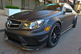 2012 mercedes benz c63 black series with track pack rare cars