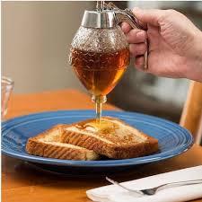 cuisine en pot j 200ml honey dispenser jar container cup portable acrylic storage