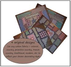 e pattern book rag quilt placemat designs vol 2 pdf country