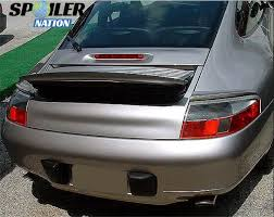 porsche spoiler 1997 2004 porsche 996 coupe tesoro 3pc rear lip spoiler
