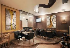 office and restaurant sound absorbing acoustic art panels