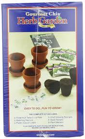 amazon com chia gourmet herb garden plant germination kits