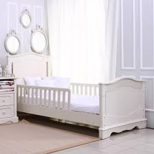 Cribs That Convert Palmier Large Crib Converted To Bed Cotonnier Furniture