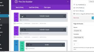 how to build a one page navigation menu bar with divi youtube