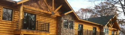 Jim Barna Model Home Barna Log Homes Inc Mayville Mi Us 48744